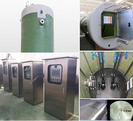 焊接一體化預制泵站